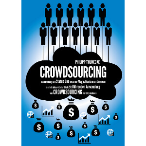 Titel page for Masters thesis about crowdsourcing.