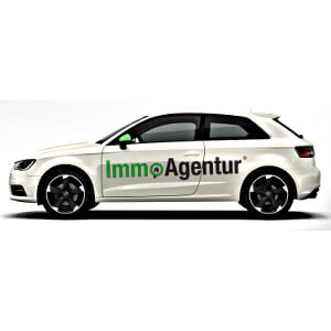 Car print for Real Estate Agency