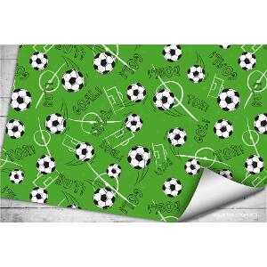 Soccer gift paper