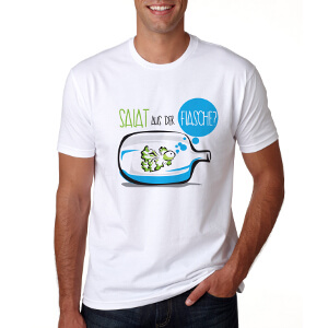 T-Shirt for BottleCrop – 'Salat in Glass'