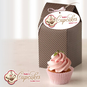 Cupcake and muffin cafe in search for a modern design