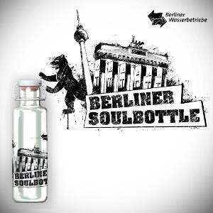 Design for glass bottle  'Soulbottle'