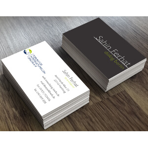 Business cards for  FID e. V.