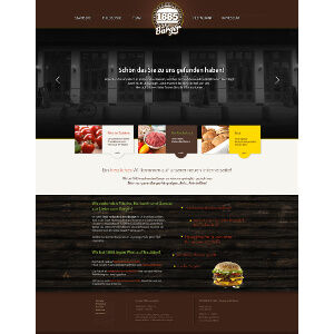 1885 The Burger Website