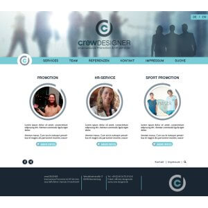 Simple website for recruitment office