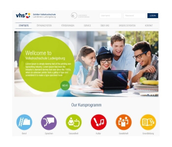 Schiller-Volkshochschule Kreis Ludwigsburg in search for a new  webdesign