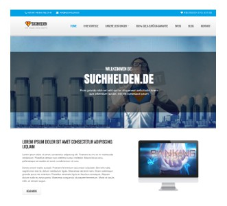 Web-Redesign for SEO-agency