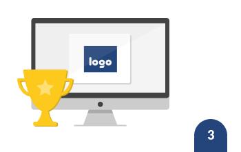Elija el ganador y recibirá<br /> el diseño y los derechos de uso